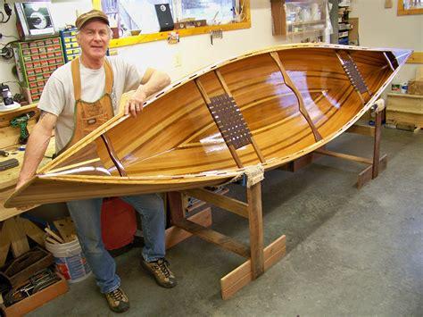 how much does a 16 foot fiberglass boat weight rides joe pikul s cedar strip prospector canoe kayak