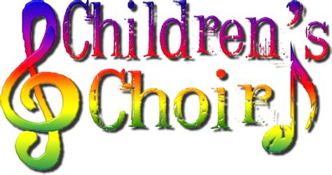 Exceptional Church Christmas Program Ideas For Kids #3: ChildrensChoir-logo.png