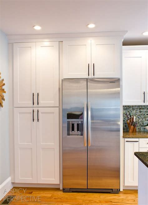 Fridge Pantry Cabinet by 25 Best Ideas About Kitchen Pantry Cabinets On