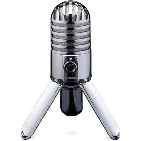 Samson Q2 Usb Microphone samson meteor mic usb studio condenser microphone samtr b h