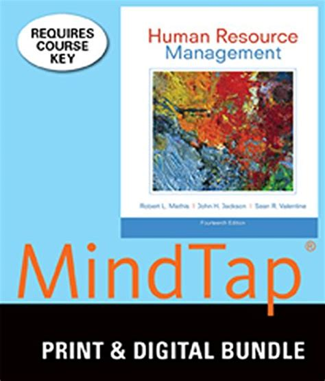 cj with mindtap 1 term 6 months printed access card new engaging titles from 4ltr press books bundle human resource management 14th mindtap