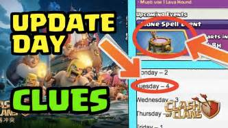 clash of clans boat history clues stack up quot boat update quot coming on tuesday clash