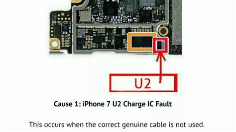 iphone 7 dead not charging u2