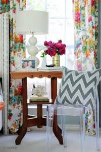 Best Fabric For Dining Room Curtains Best 25 Floral Curtains Ideas On Printed