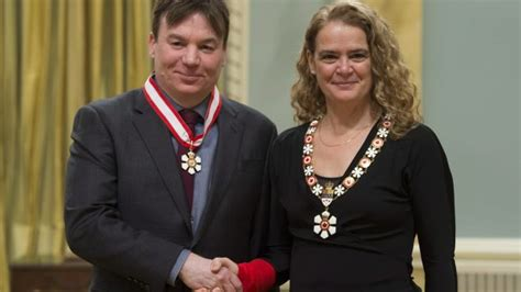 mike myers canada mike myers and the order of canada