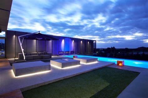 Led Beleuchtung Terrasse by Led Gartenbeleuchtung Ideen F 252 R Terrasse Und Blumenbeet