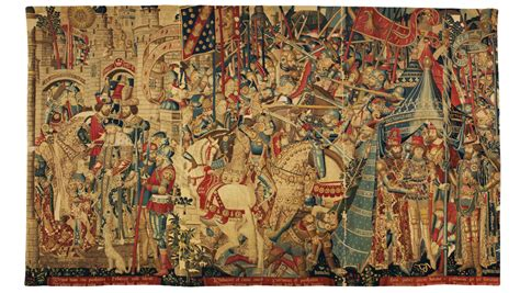 The Tapestry the war of troy tapestry and albert museum