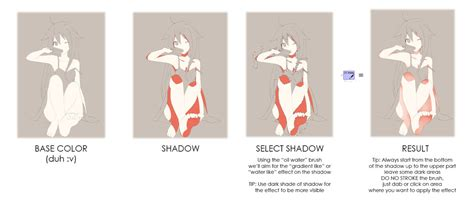 skin coloring tutorial anime style by curryn chan on deviantart