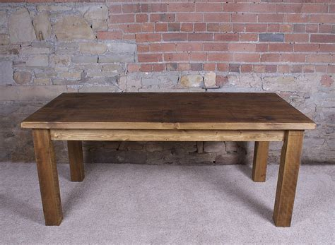 dining room table solid wood solid wood dining table by h f notonthehighstreet