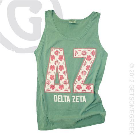 quot quot comfort colors delta zeta tank delta zeta