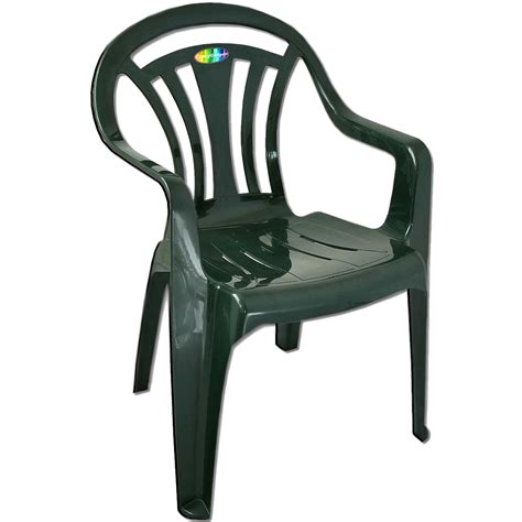 Low Patio Chairs Plastic Garden Low Back Chair Stackable Patio Outdoor Seat Chairs Picnic Ebay