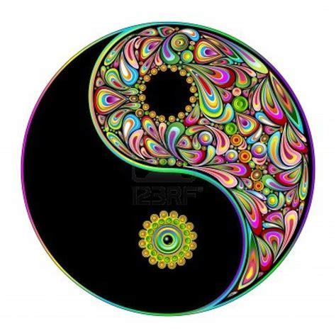 colorful yin yang yin and yang the of yin yang