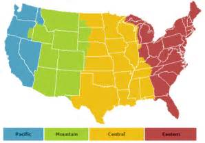 us map central time zone us central time zone map