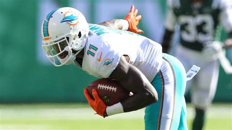 miami dolphins news rumors sun sentinel dolphins receiver devante parker ankle doubtful for