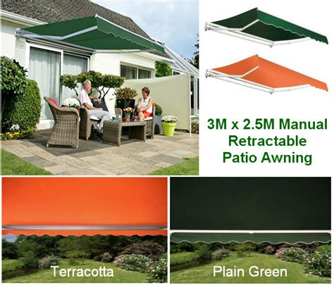 Patio Awning 3m X 2 5m Shop Ireland Excellent Products At Exceptional Prices