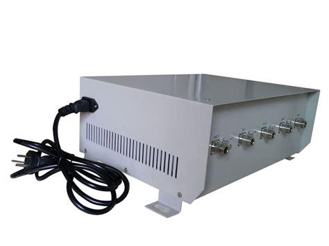 70w high power cell phone jammer for 4g lte with omni directional antenna