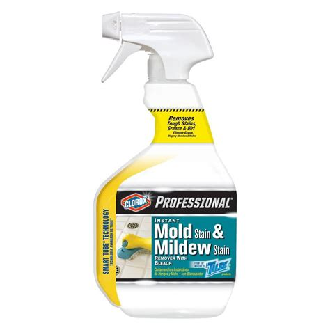 Bathroom Mold Removal Spray Clorox 32 Oz Professional Instant Mold Stain And Mildew