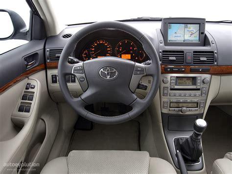 Toyota Avensis 2006 Interior by Toyota Avensis Specs 2006 2007 2008 Autoevolution
