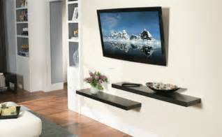 tv on the wall ideas 18 chic and modern tv wall mount ideas for living room