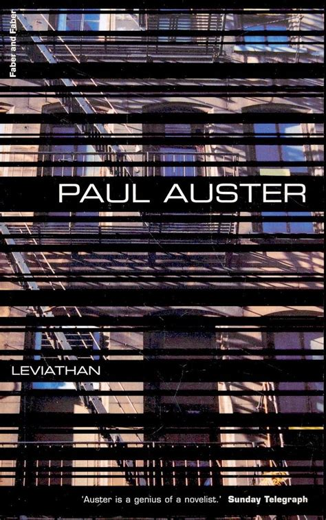 Paul Auster Leviathan leviathan by paul auster the book of illusions