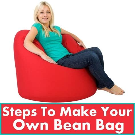 how to build a bean bag make your own bean bag diy top luxury things