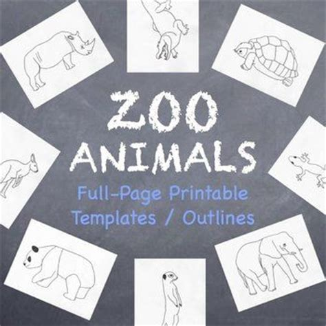 Outlines Zoo Station Remix by 1000 Images About Activities For The Literacy On Preschool Letters And