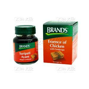 Brand Sari Pati Ayam Cordyceps jual beli brands sari pati ayam dengan cordyceps 2 5oz 70gr k24klik