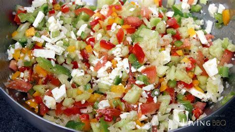 salat rezept rezept griechischer salat hirtensalat salatbeilage zum grillen