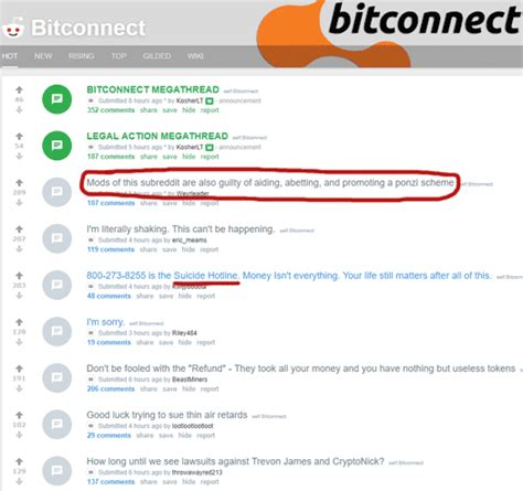Bitconnect Scam Reddit | bitconnect reddit goes private youtube shill updates