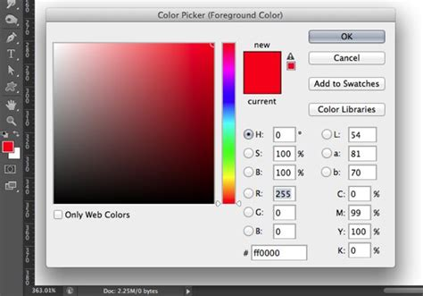 photoshop color picker 4 ways to use adobe photoshop tools wikihow