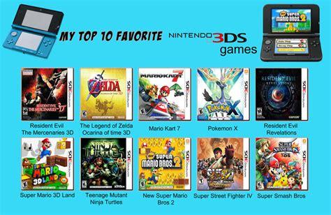 best 3ds my top ten favorite 3ds by porygon2z on deviantart