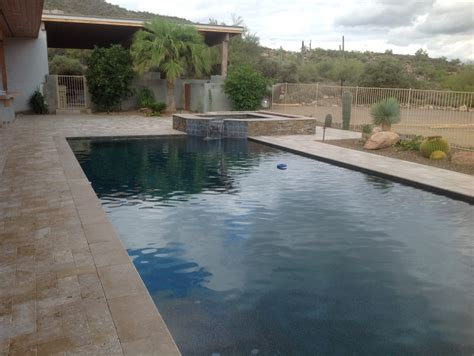 Backyard Day Scottsdale Scottsdale Pool Remodeling To Complete Pool Installation