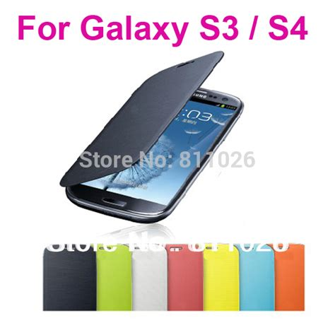 Flip Cover Advan S4 Promo Termurah flip cover leather back battery housing for samsung galaxy s4 i9500 galaxy s3 i9300 free
