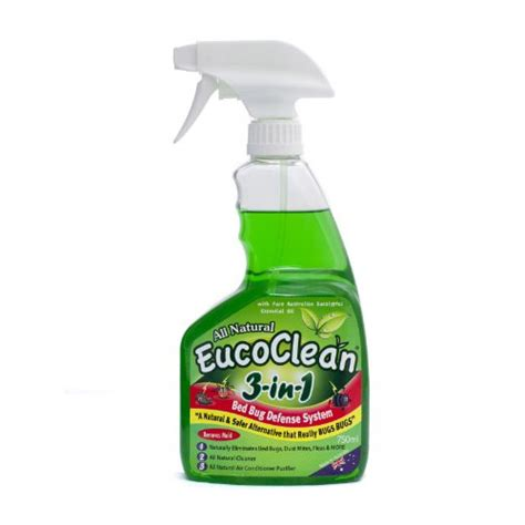 bed bug cleaning eucoclean 3 in 1 disinfectant bed bug spray 750ml