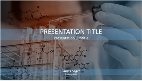 Free Science Lab Powerpoint Template 12947 Sagefox Powerpoint Templates Science Powerpoint Templates Free
