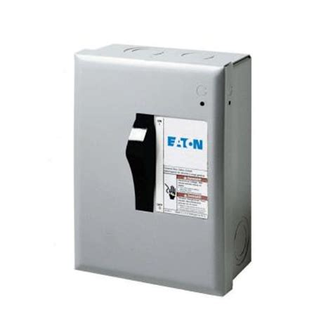 eaton  amp  volt  watt fused general duty safety switch dpngb  home depot