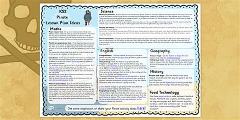 ideas for ks2 music lessons pirate lesson plan ideas ks2 pirate lesson plan idea ks2
