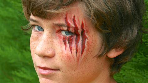 blessure griffures profondes tutoriel de maquillage