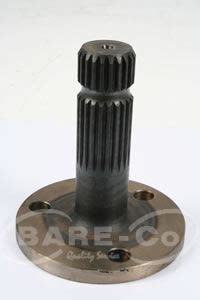 B7032 B7032 shafts pto shaft 1 3 8 quot x 21spl b7032 parts direct