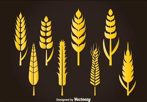 wheat stalk vector   vectors clipart