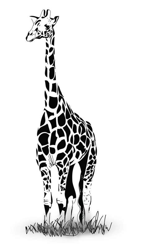 zebra pattern illustrator tutorial how to draw a vector giraffe in adobe illustrator by