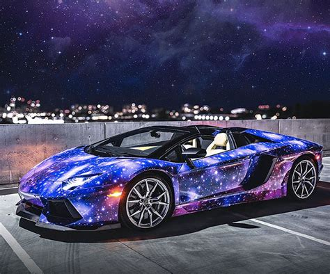 lamborghini custom paint job galaxy paint job lamborghini