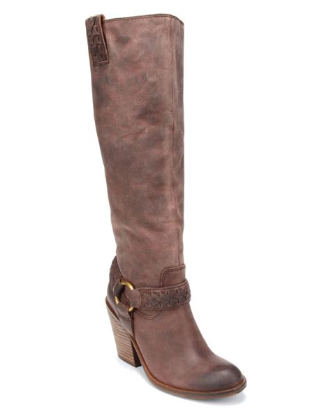 brand boots for lucky brand western boots ethelda in gray lavender