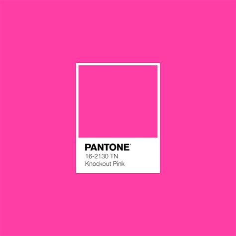 knockout colors pantone knockout pink luxurydotcom pantone in 2019