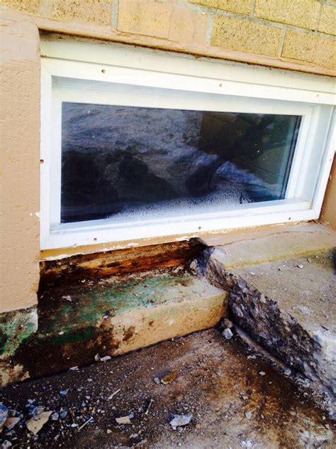 leaky basement window