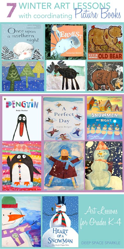 picture book lessons 7 winter lessons to try space sparkle