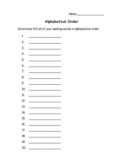 Spelling Homework Worksheets by Printable Spelling Homework Activit