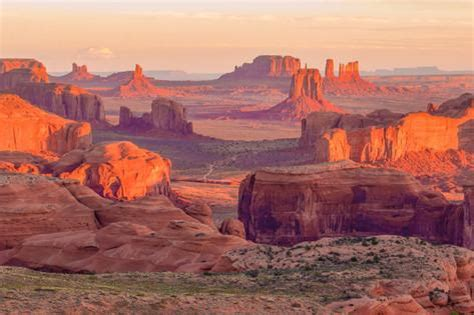 Photographic Wall Murals sunrise at hunts mesa viewpoint photographic print by