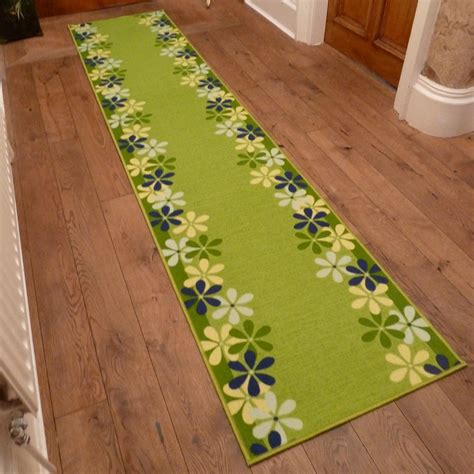 Green Rug Runner by Green Runner Rug Margerite Carpet Runners Uk