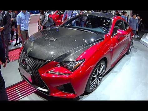 lexus rc f 2017 interior lexus rc f 2016 2017 carbon interior exterior